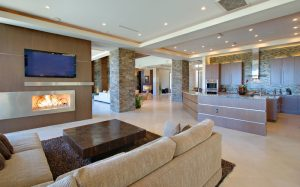 living-room-open-kitchen-fireplace